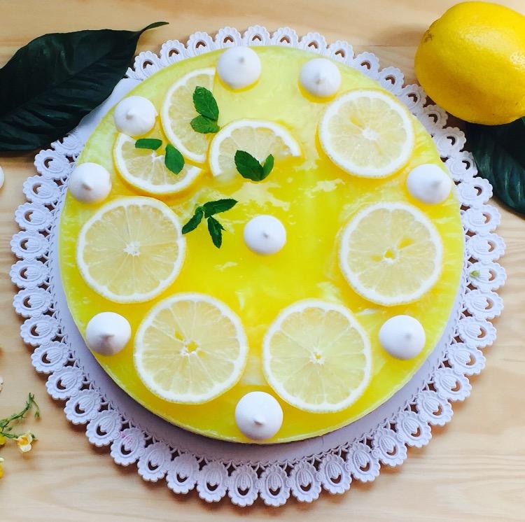 cheesecake al limone e merighette