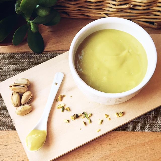 crema pasticciera al pistacchio
