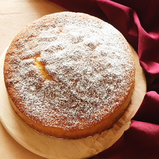 Torta Margherita classica, soffice e alta
