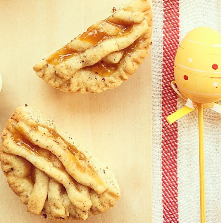 Crostatine di pasta frolla cremosa alla nocciola