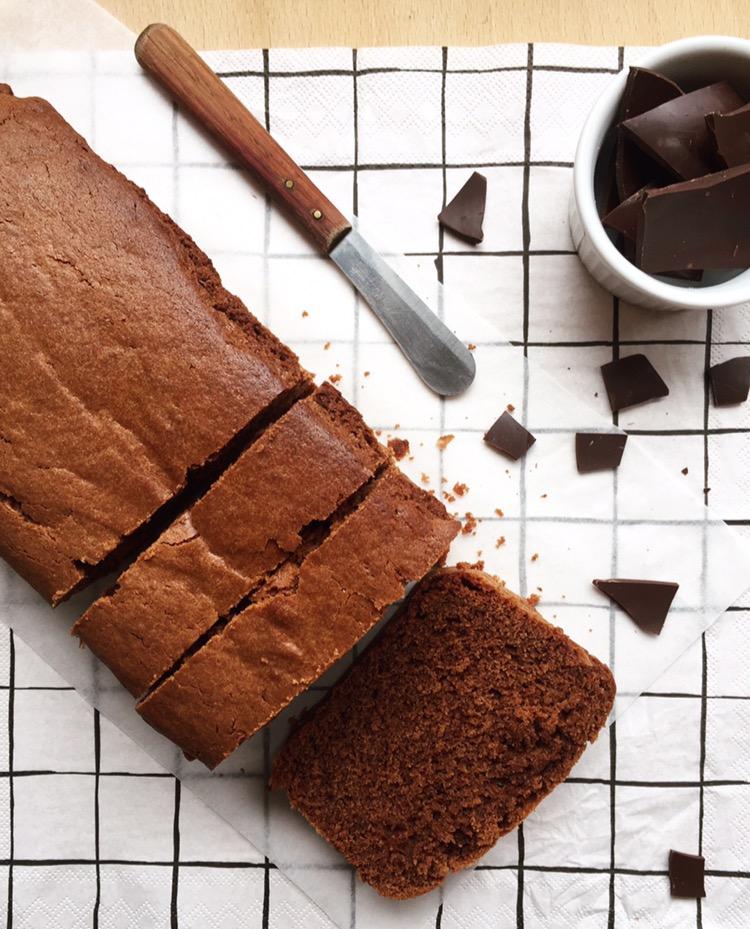 Plumcake al cioccolato fondente soffice e goloso