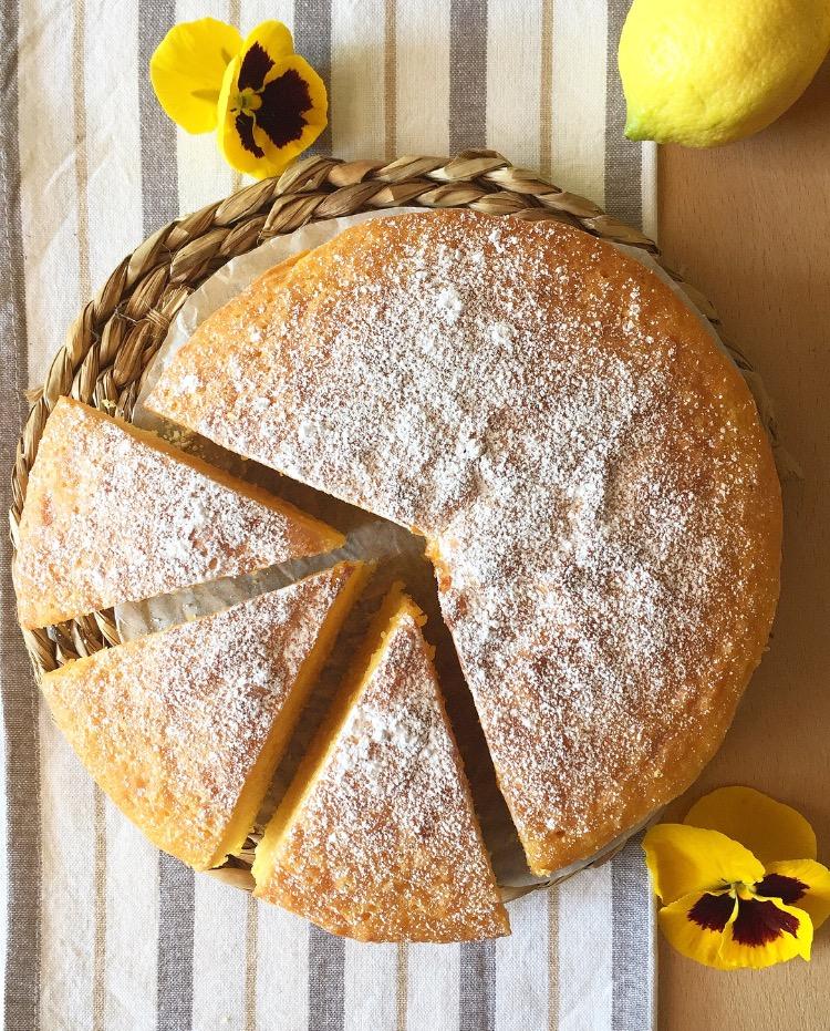 torta al limone soffice profumata e senza burro