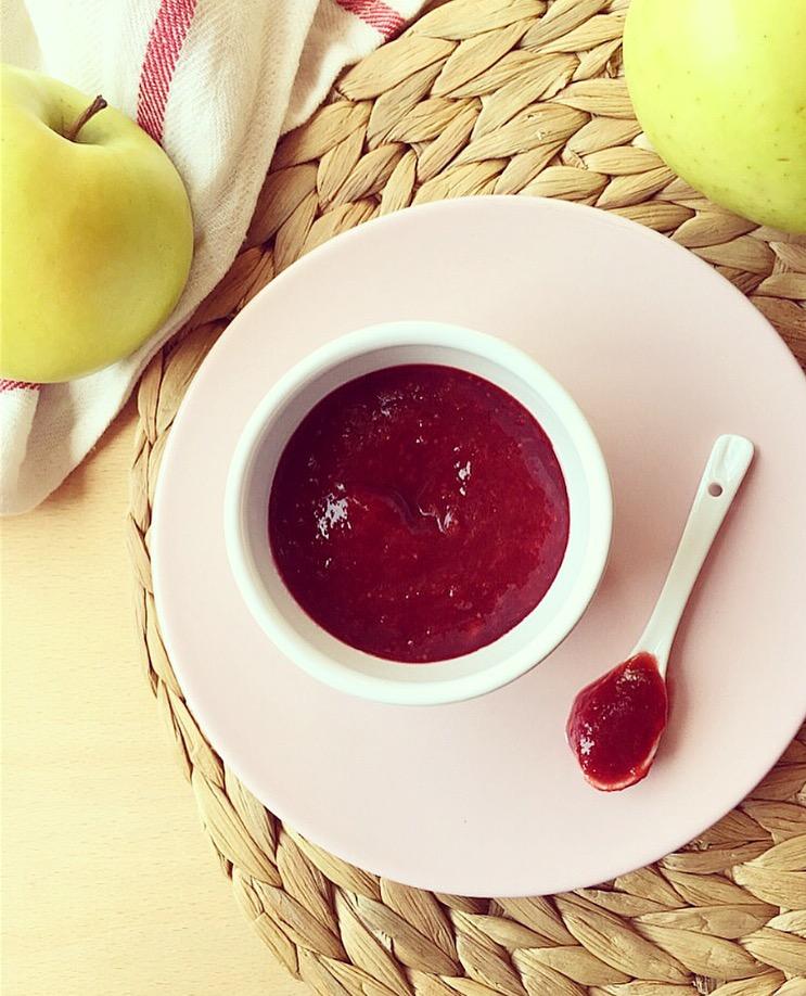 marmellata di fragole e mela