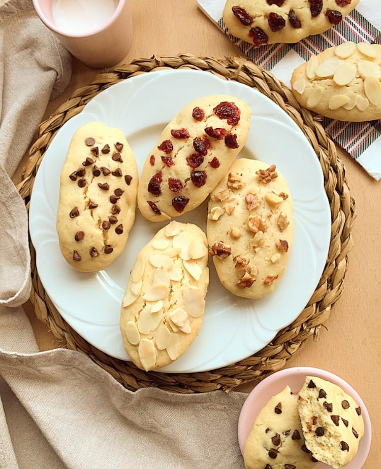 biscottoni soffici e leggeri all'olio