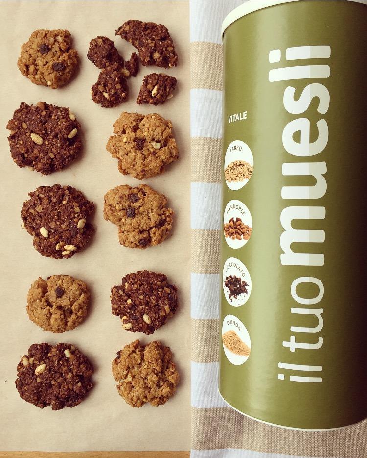 biscotti integrali ai muesli