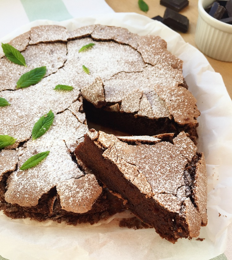 torta al cioccolato e menta