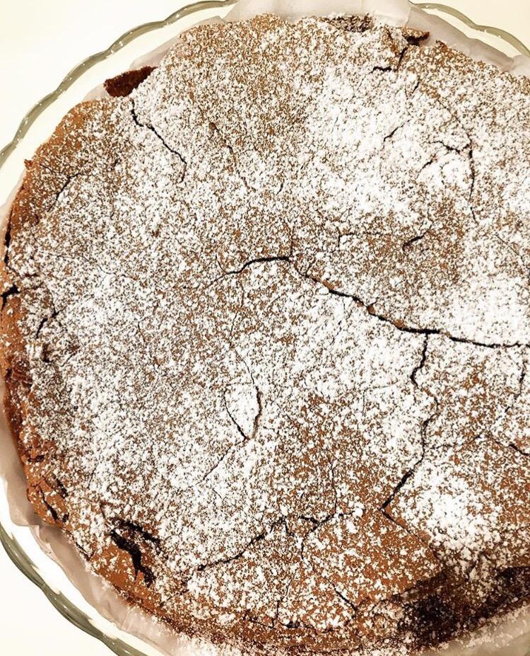 torta tenerina al cioccolato fondente