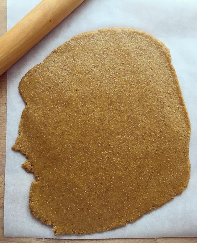Crostata integrale con marmellata di fragole
