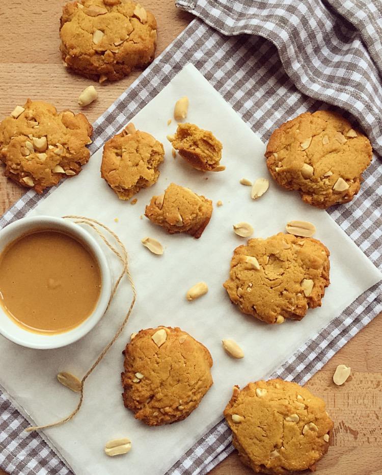 Biscotti al burro di arachidi facili e golosi