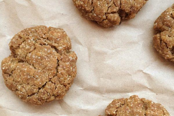 Cookies al caffè e cacao