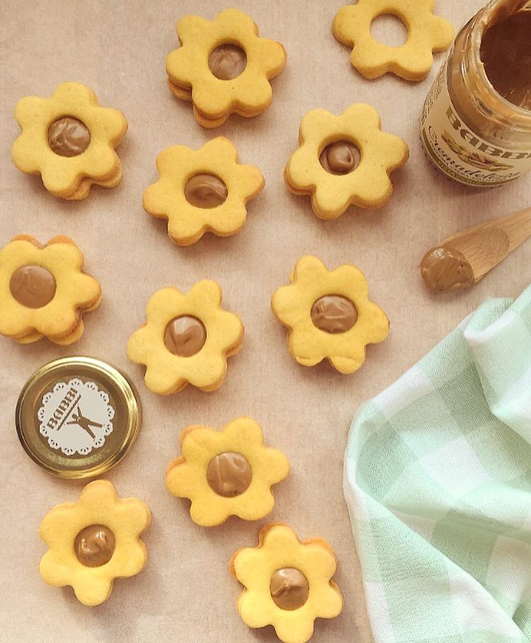Biscotti con crema al pistacchio Babbi