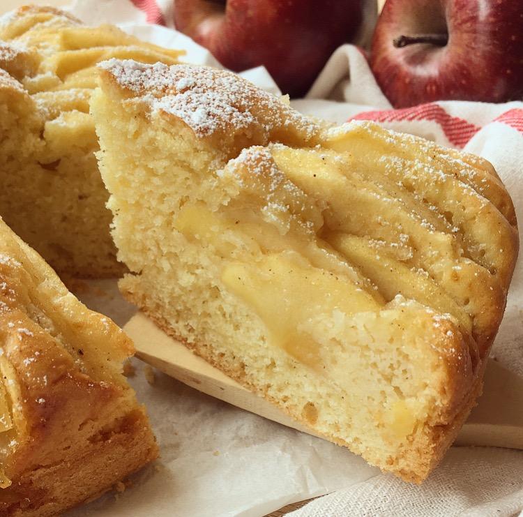 torta di mele sofficissima senza burro e senza latte