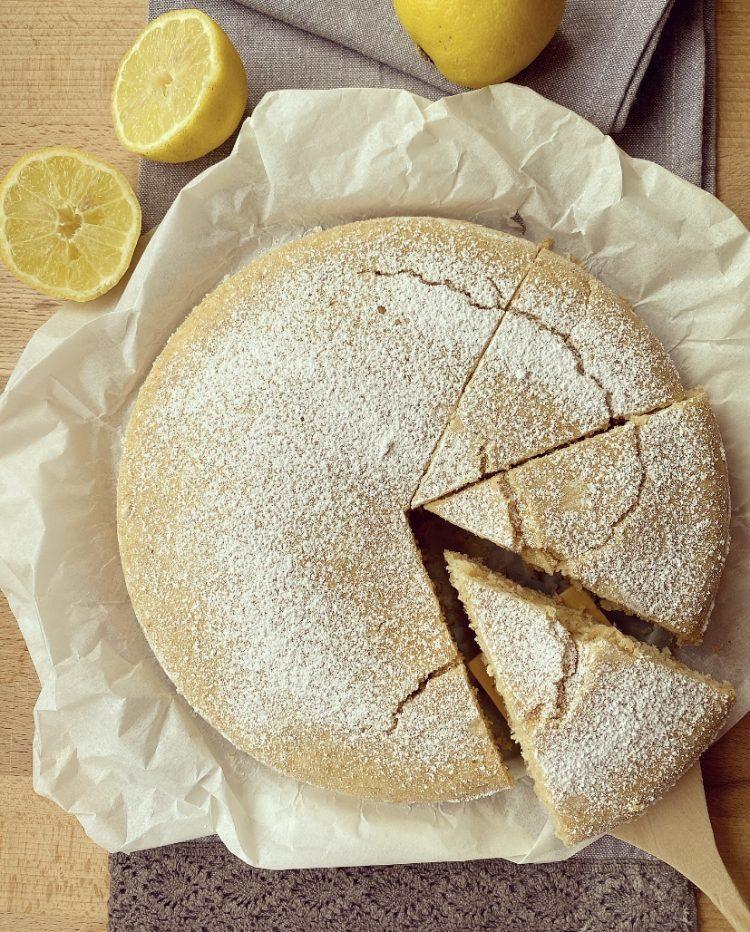 Torta soffice e leggera al limone