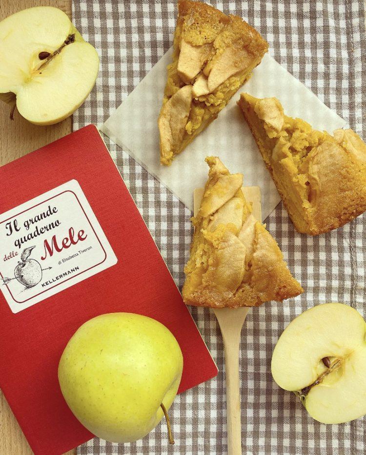 torta soffice di mele rovesciata