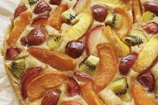 Torta macedonia soffice e leggera