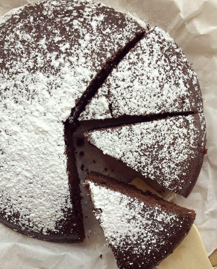 Torta soffice al cacao e ricotta