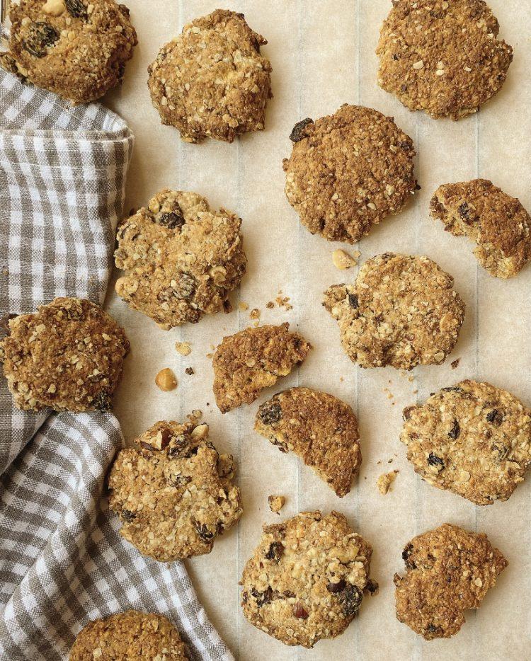biscotti gran cereale con mela uvetta e frutta secca