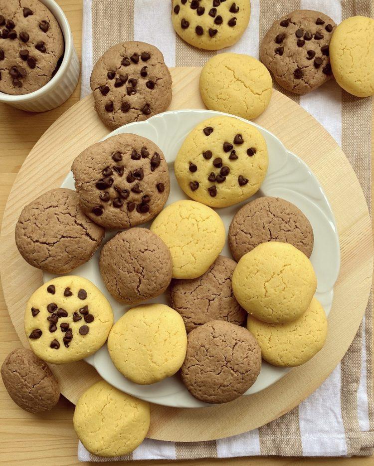 biscotti con farina di riso friabili e senza burro