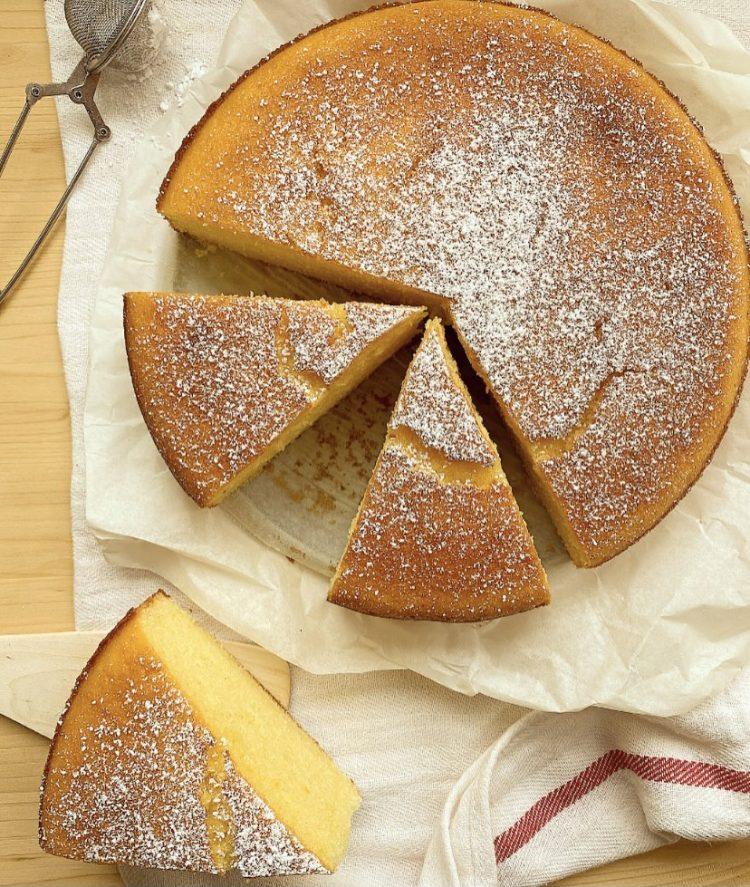 torta all'arancia facile, alta e morbidissima