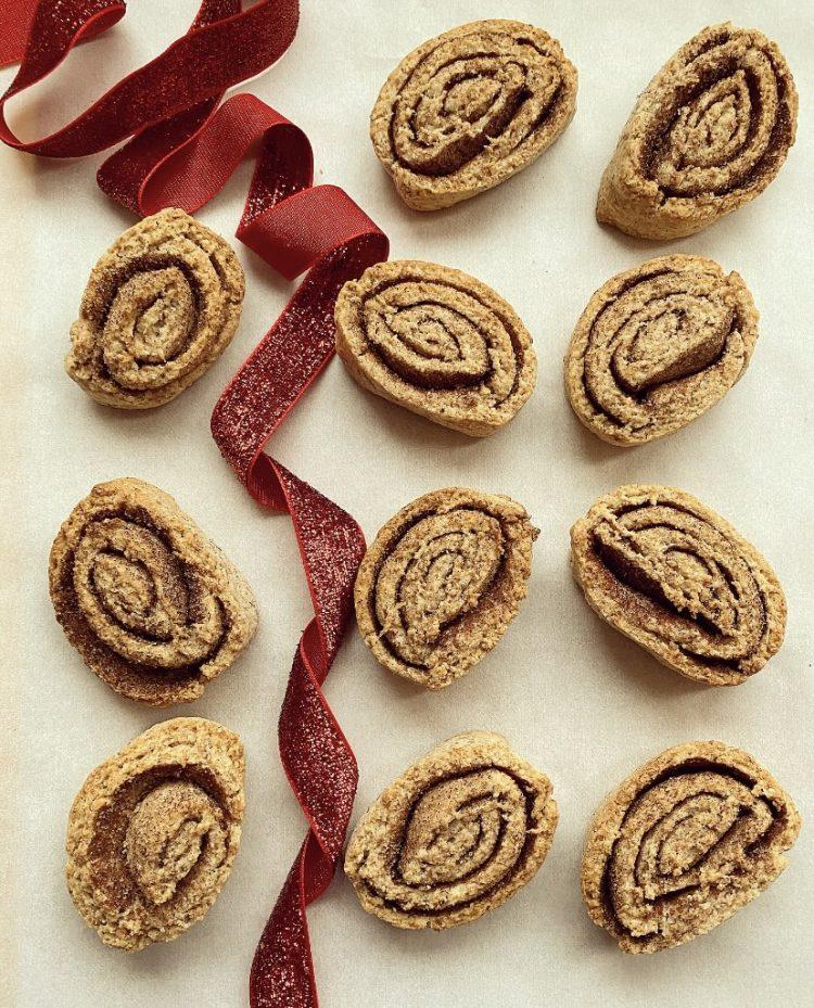 cinnamon roll cookies vegani