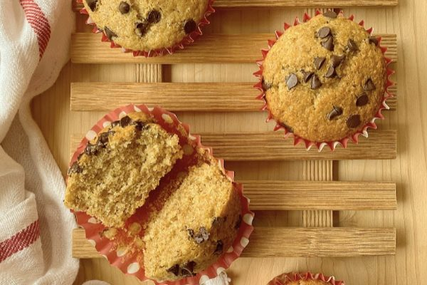 muffin integrali soffici e senza burro